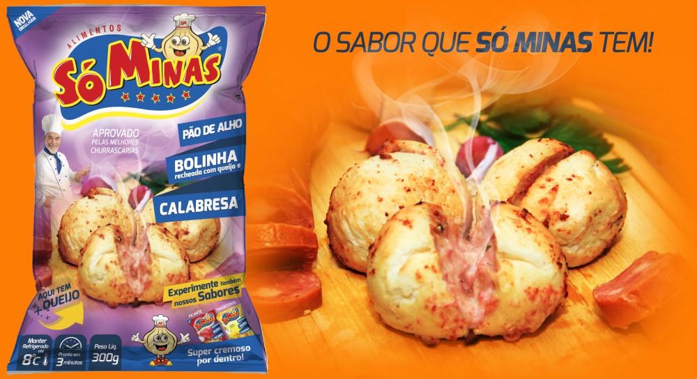 PÃO DE ALHO BOLINHA CALABRESA